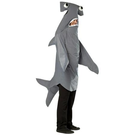 Hammerhead Shark Costume (Hammerhead Shark Adult Halloween Costume - One)