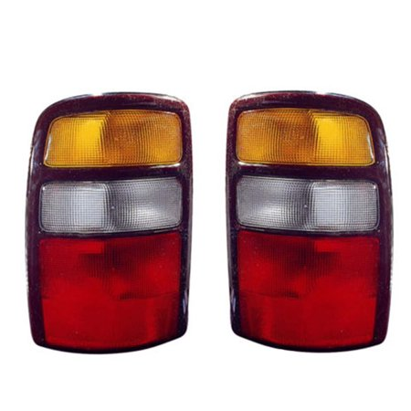 NEW PAIR OF TAIL LIGHTS FIT CHEVROLET SUBURBAN 1500 2500 2004 2005 2006 GM2800170 GM2801170 15832091 (Chevrolet Suburban 2500 Parking Light)