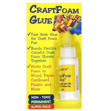 Craft Foam Glue 1 oz. (pack of 4) (Best Glue For Craft Foam)