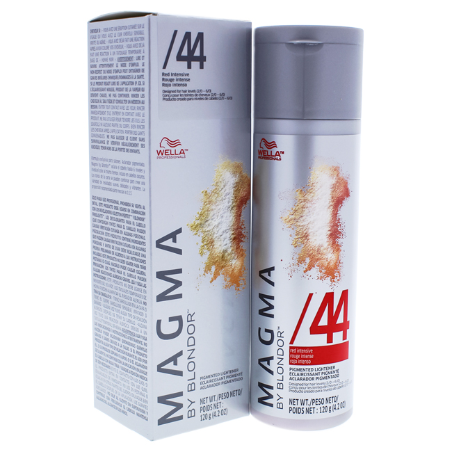 Magma By Blondor Pigmented Lightener 44 Red Intensive By Wella