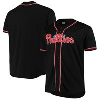 Philadelphia Phillies Big & Tall Fashion Jersey - Black