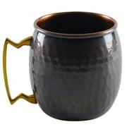 TenStrawberryStreet Antique Mini Mug 2 oz. Copper (Set of 4)