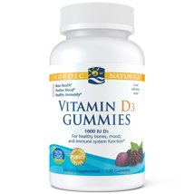 Vitamins & Supplements: Nordic Naturals Vitamin D3 Gummies