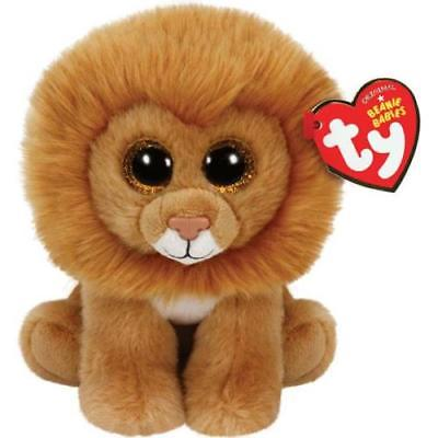 Ty Beanie Babies Small Plush, LOUIE THE LION, 2Pack