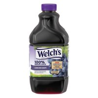 (2 Pack) Welch's 100% Juice, Concord Grape, 64 Fl Oz, 1 Count
