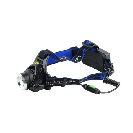 Aluminum 2000 Lumens XM-L T6 LED 18650 Zoomable Headlamp Headlight Night Torch