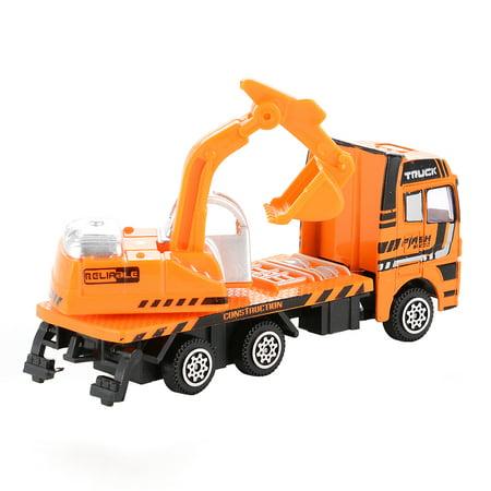 3PCS Diecast Metal Car Models Play Set Builders Construction Trucks Vehicle Playset - image 1 of 6