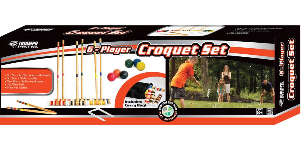 how to play croquet instructions