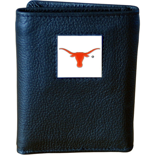 NCAA - Executive Tri-Fold Wallet in Collector's Tin,  University of Texas Longhorns