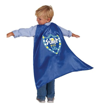 C.R. Gibson Jill McDonald Super Hero Cape Big Brother Costume - Halloween Pails Mcdonalds