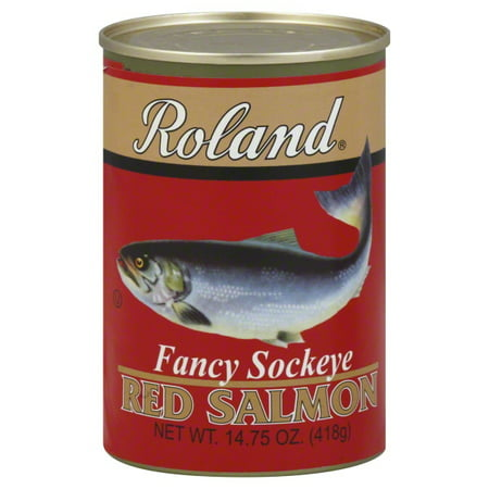 Roland Fancy Sockeye Red Salmon, 14.75 OZ
