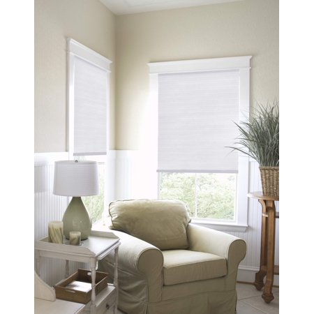 Richfield Studios Cordless Light Filtering Cellular Shade, - Light Up Shutter Shades