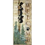 "Kit~McKenna Ryan~Welcome Bear Inn~ Applique Kit Laser Pre-Cut with Fabric 12 1/2 x 31"""