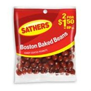 Sathers Boston Baked Beans 12 pack (2oz per pack) (Pack of 4)