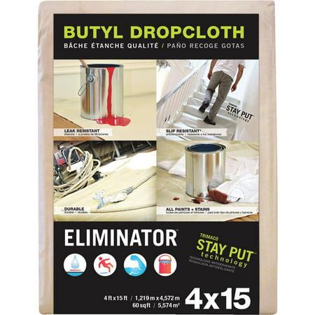 Trimaco LLC 4x15 Butyl Drop Cloth 80328