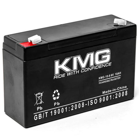 Kmg 6V 10Ah Replacement Battery For Alaris Medical 965A Micro Infusion Pump