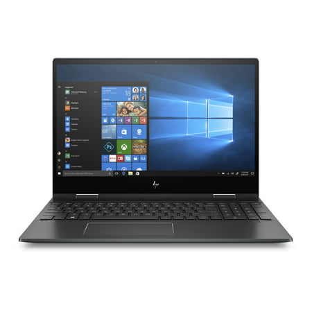 "HP ENVY X360 15-DS1077NR 15.6"" Laptop AMD Ryzen5-4500U 16GB DDR4 256GB SSD AMD Radeon Graphics Windows 10 Home - Black"