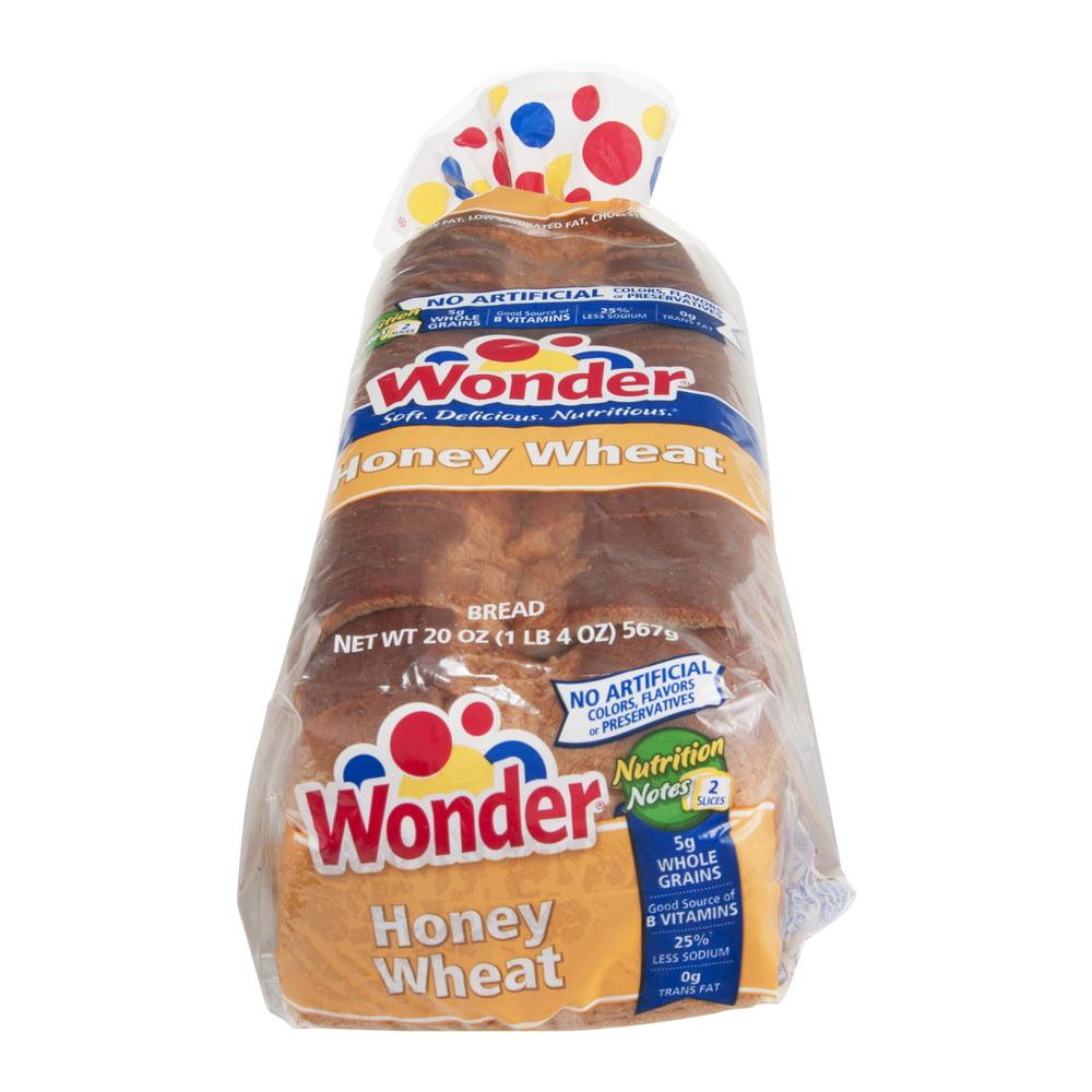 Wonder Bread Honey Wheat, 20.0 OZ
