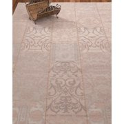 Natural Area Rugs Fiorentina Patchwork Power Loomed Pink Area Rug