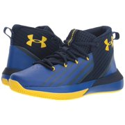 Under Armour Boy's Bgs Lockdown 3 Basketball Shoe, Academy (402)/Royal, Size 7