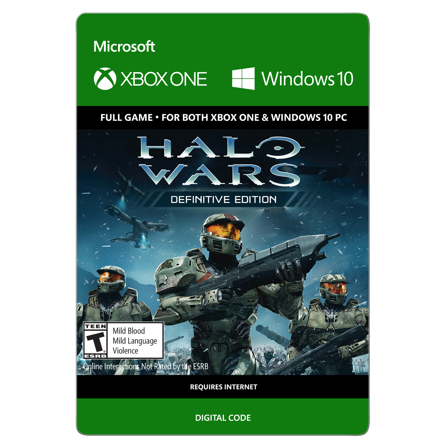 Xbox One Halo Wars: Definitive Edition (email delivery)