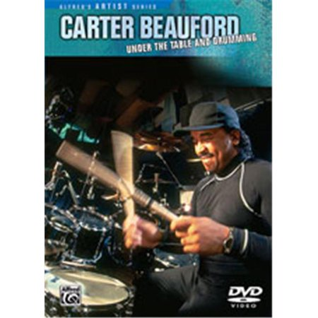 Alfred 00-902971 Carter Beauford- Under the Table and Drumming - Music Book - image 1 of 1