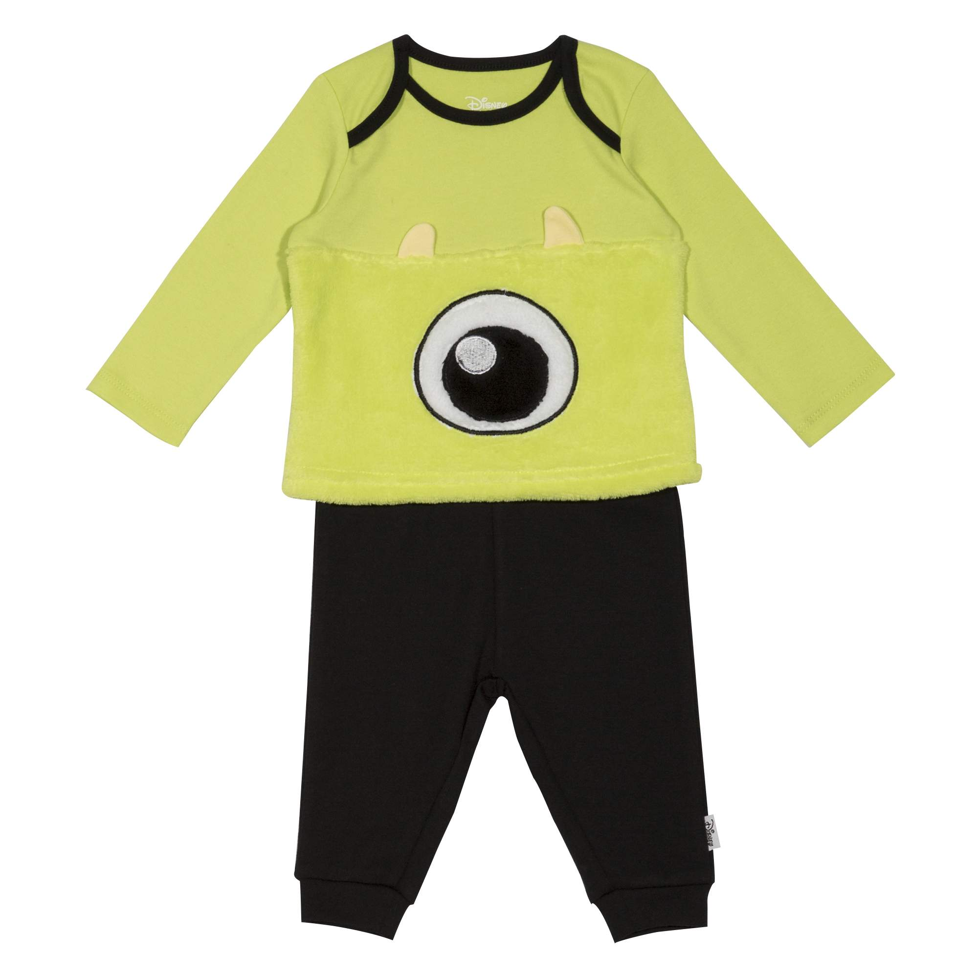 Disney Monster's Inc. Newborn Baby Boy 2pc Jogger Set