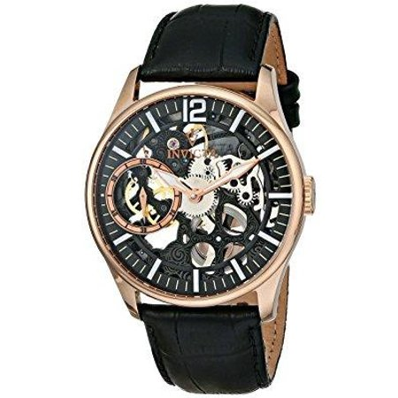 - Invicta Men's 12408 Vintage Mechanical Multifunction Black Dial Watch