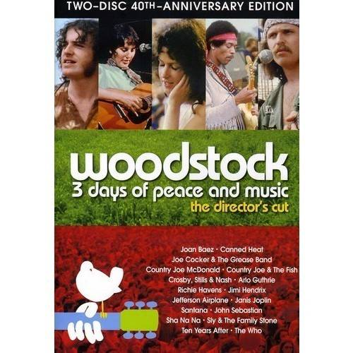 Woodstock: 3 Days Of Peace And Music (Director's Cut 40th Anniversary Special Edition)
