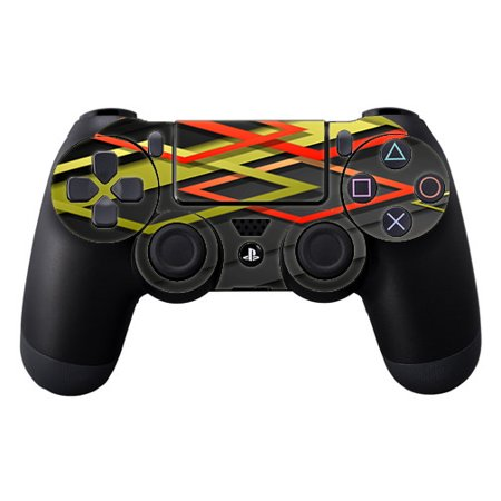 (Skins Decals For Ps4 Playstation 4 Controller / Tech Abstract)