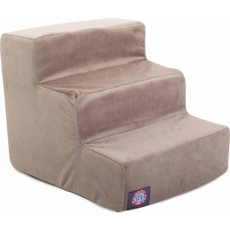 (Majestic Pet Products 3 Step Suede Pet Stairs)
