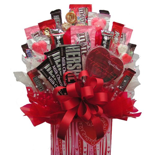 Sweetheart™ Box Candy Bouquet