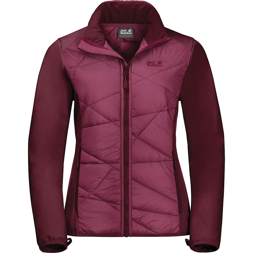 Jack Wolfskin Women's Grassland Hybrid Jacket