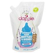 Dapple - Baby Bottle & Dish Liquid Eco-Smart Refill Pack Lavender - 34 fl. oz.