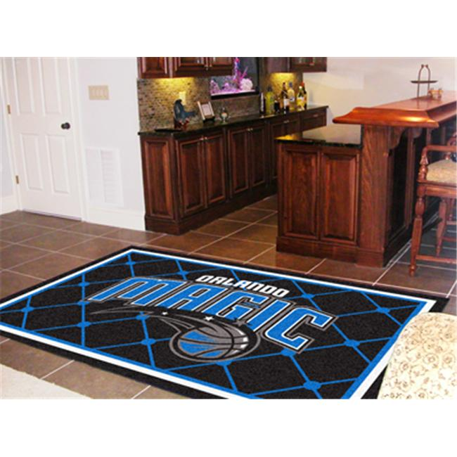 FANMATS 9363 Orlando Magic Rug 5x8 60 in. x 92 in.