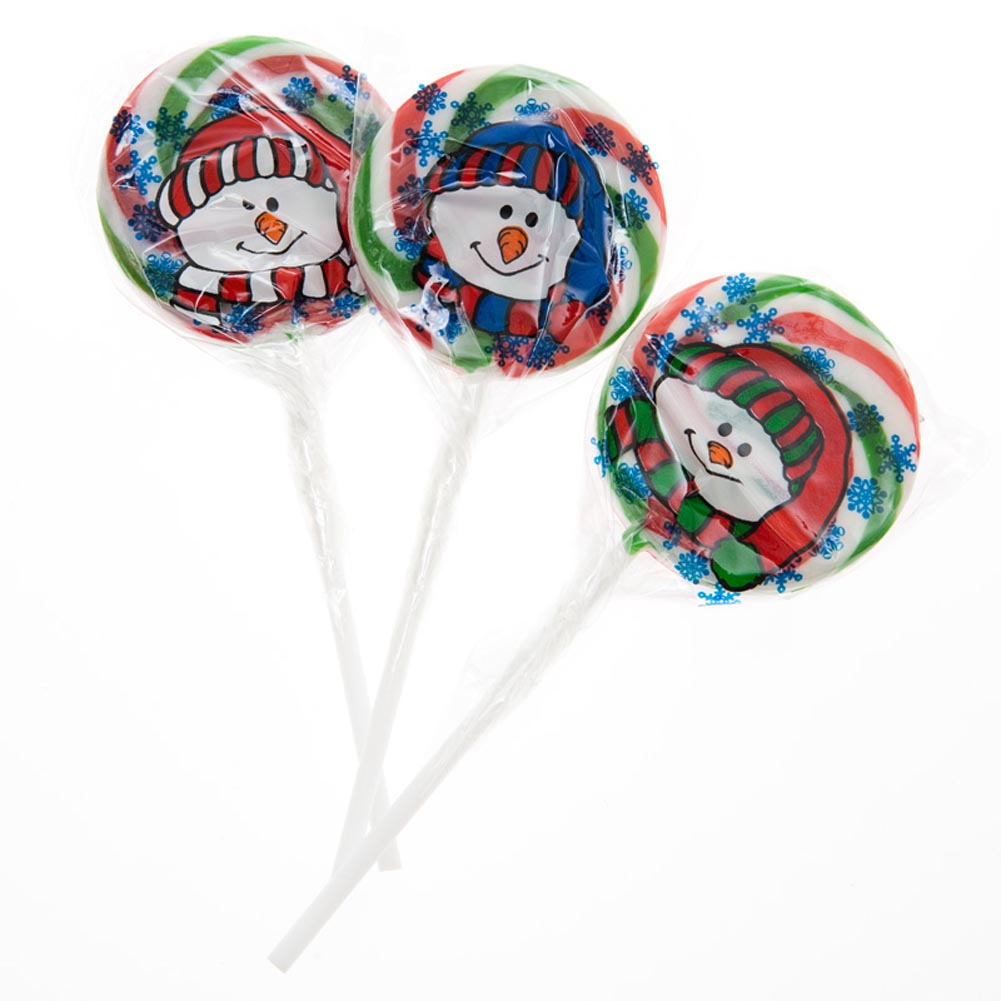 Holiday Snowman Lollipops by Fun Express, Inc.