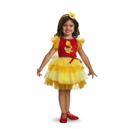 Frilly Winnie The Pooh Costume Size 12-18 M - Winnie The Pooh Costume Baby