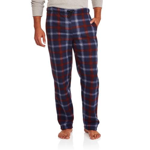 Generic Big Men's Micro Fleece Sleep Pants with Bungy Cord