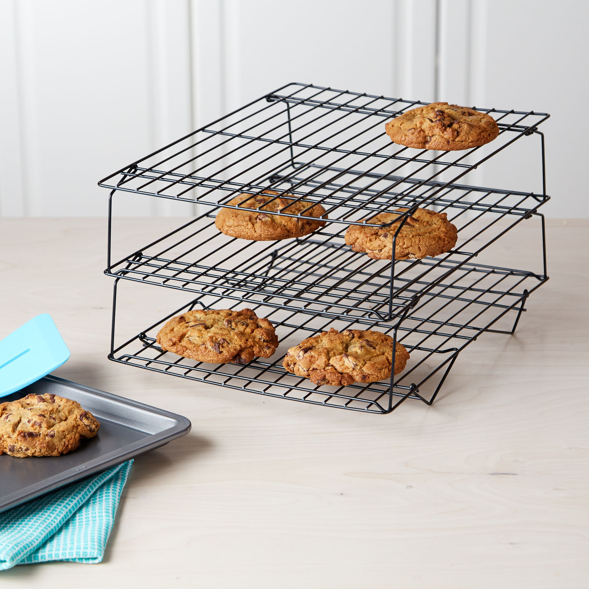 Tasty 3 Tier Cookie Non-Stick Cooling Rack