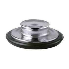 Black InSinkErator  STP-PL Sink Stopper for Garbage Disposals