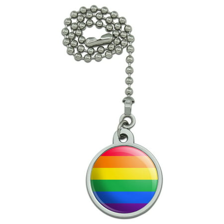 Packets Rainbow Light (Rainbow Pride Gay Lesbian Contemporary Ceiling Fan and Light Pull Chain)