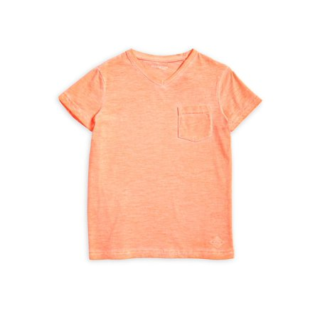 Boy's Heathered V-Neck Tee](Lord And Taylor Boys)