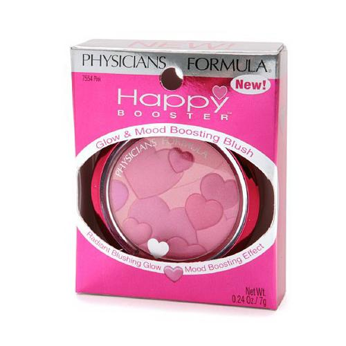Physicians Formula Happy Booster Glow And Mood Boosting Blush, Pink - 0.24 Oz
