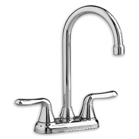 American Standard Colony Soft High-Arc Bar 2-Handle Kitchen Faucet in Chrome American Standard Chrome Soft Faucet
