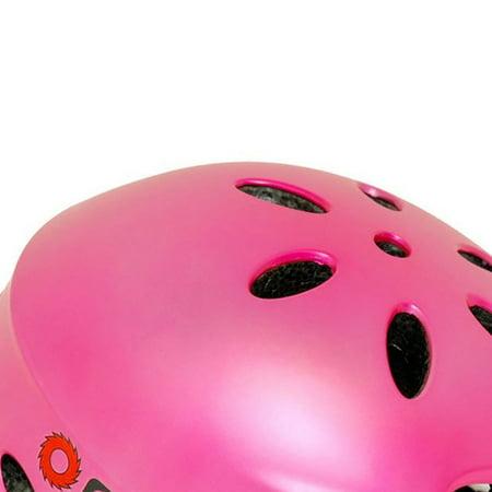 Razor V17 Youth Bike Helmet, Satin Pink