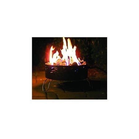 Camco 58041 Portable Campfire With 8 Hose And Regulator Features A 14 5 Diameter Walmart Com Walmart Com