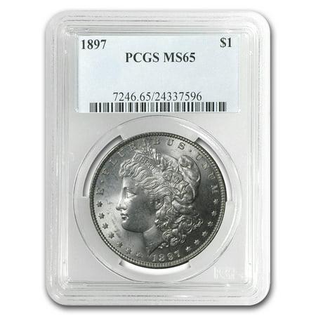 1897 Coin (1897 Morgan Dollar MS-65 PCGS )