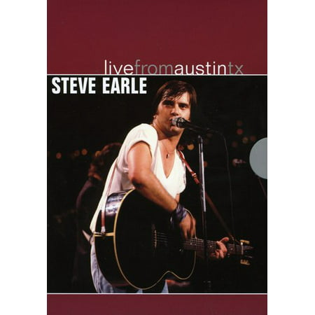 Steve Earle: Live from Austin, TX (DVD) - Halloween Carnivals In Austin Tx