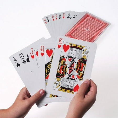 Giant 5 x 7 Inch Playing Cards