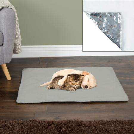 Self Warming Pet Crate Pad Self Heating Thermal Bed Liner